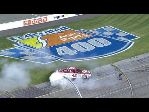 Richmond recap: Kyle Larson earns fourth victory of season
