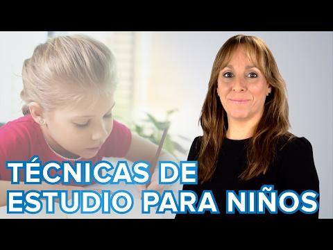 Cómo enseñar a estudiar a niños de Primaria | Técnicas de estudio