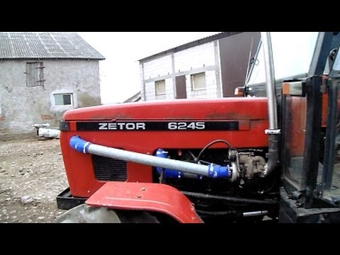 Tuning Zetora / Montaż Turbosprężarki/Turbiny - Zetor 6245 TURBO