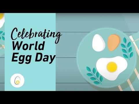 加拿大蛋农庆祝世界蛋日25周年