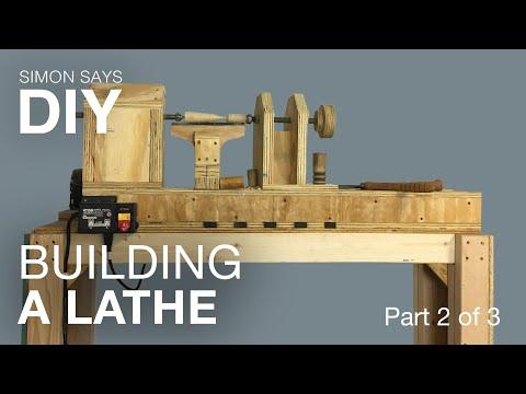 DIY Wood Lathe Part 2 of 3