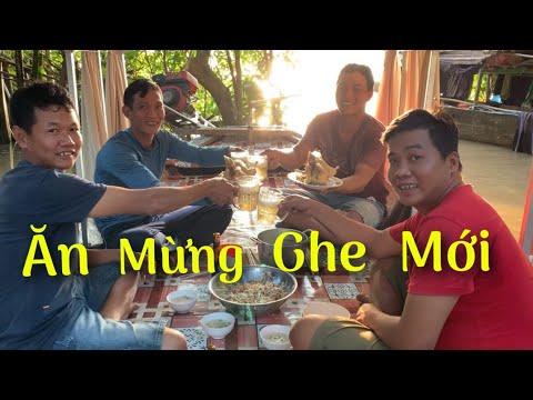 Cháo gà tre trên sông nước miền tây ăn mừng GHE mới | Cù Lao Dung Vlogs #247