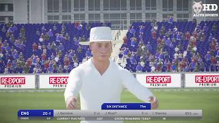 India vs England 5th test Day 5 Highlights | Don Bradman Cricket 17 Gameplay