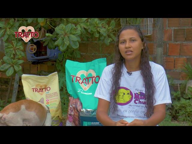 Entrega de doação de alimentos - Tratto e W Solidário