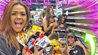 COMPREI TODAS AS BARRAS  DE CHOCOLATE DO MERCADO !!!