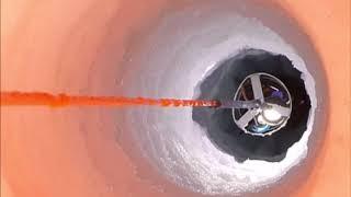 Видео: Посмотрите, что увидели ученые под льдами Антарктиды. Спуск в бездну ледника в Антарктиде.