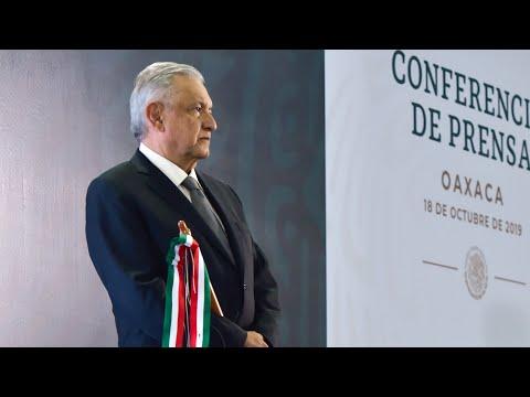Estrategia de seguridad prioriza la vida de las personas. Conferencia presidente AMLO