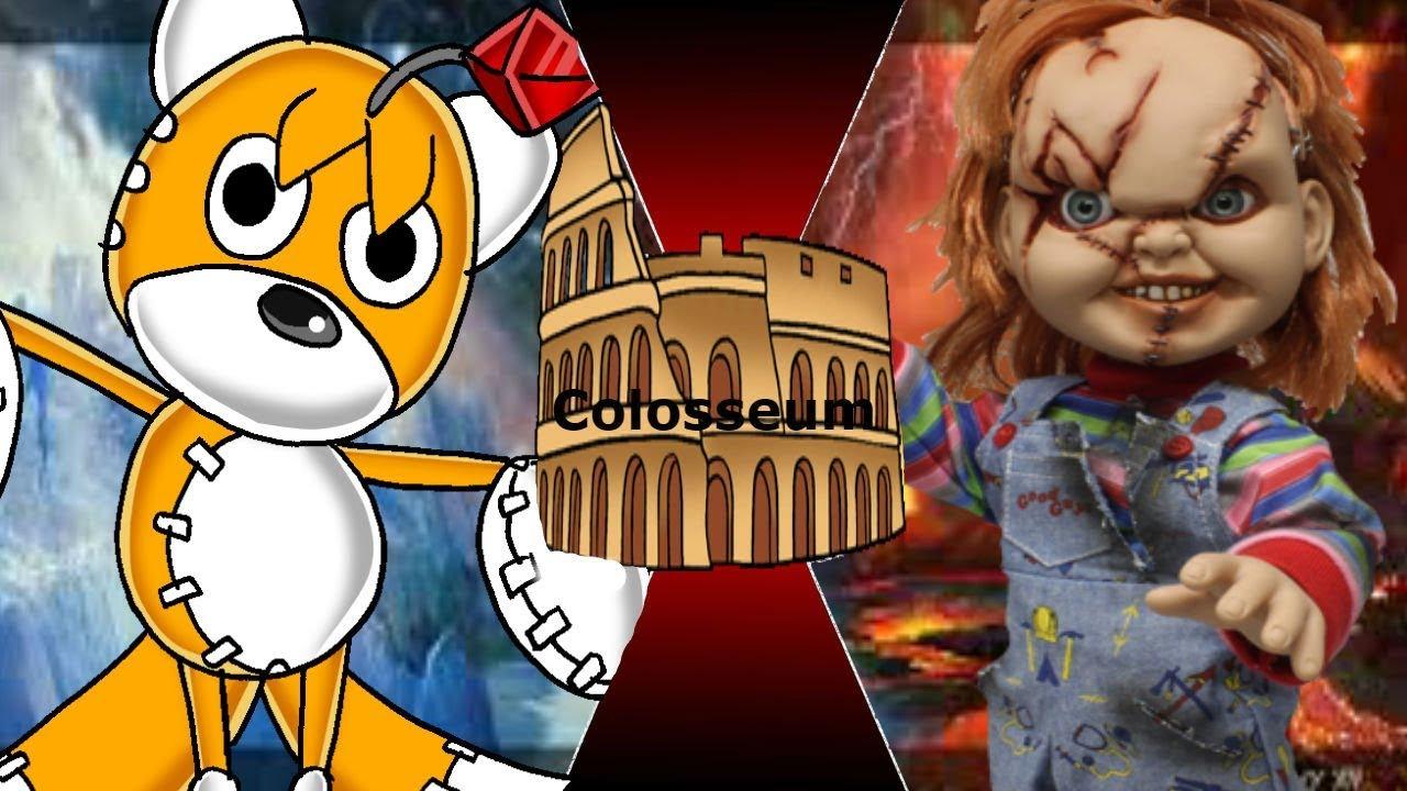 Tails Doll VS Chucky The Killer Creepypasta Vs Childs Play Colosseum 20 EP5