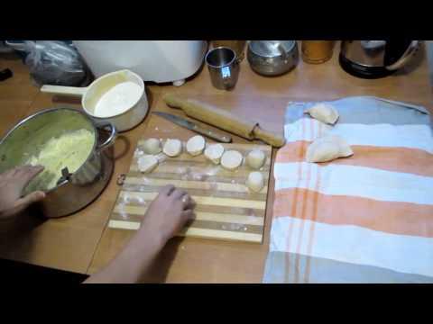 Семья Бровченко. Вареники с картошкой. Тесто и начинка. Рецепт. - Как поздравить с Днем Рождения