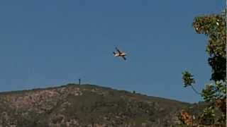 Fire Plane in action - Majorca July 2012