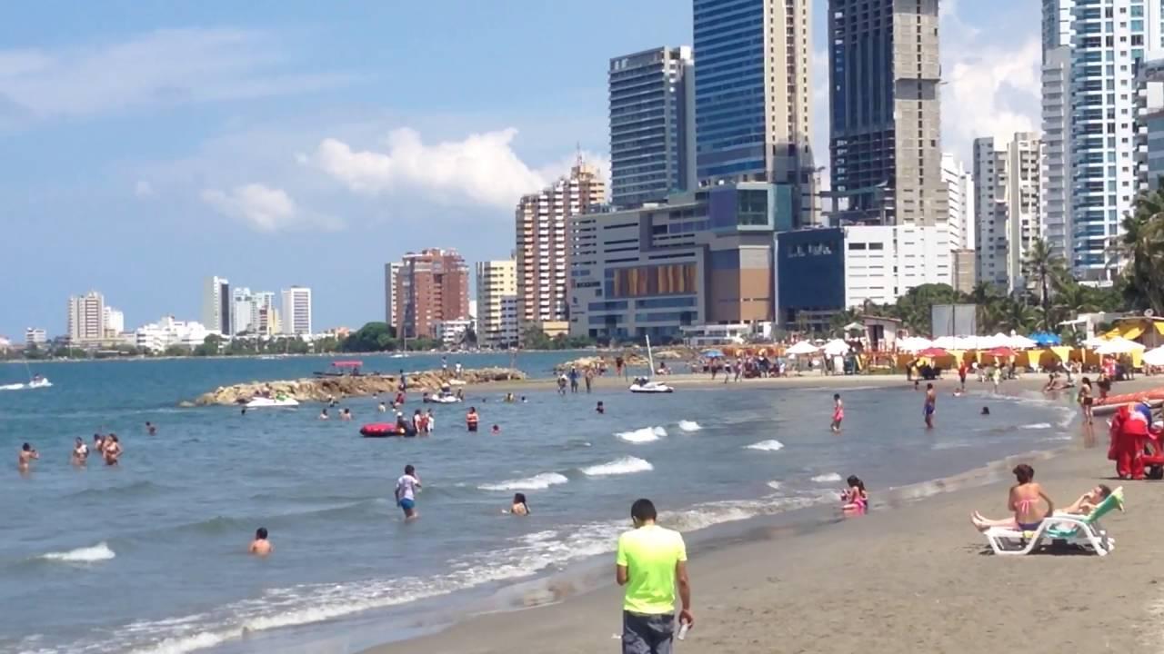 Boca Grande Beach In Cartagena