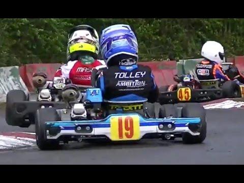 Super 1 Karting 2016: Rd 6, Fulbeck Part 7 Honda Cadet