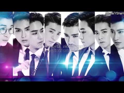 Super Junior-M - Love For You  [Sub Español + Hanzi + Pinyin]