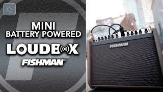 FIshman Loudbox Mini Charge - Battery Powered Portable Amplifier