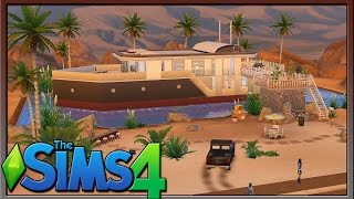 Sims 4 Lot Showcase: Queen Nefertiti by J0L1990