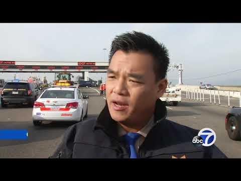 Driver arrested after toll taker killed in Bay Bridge crash