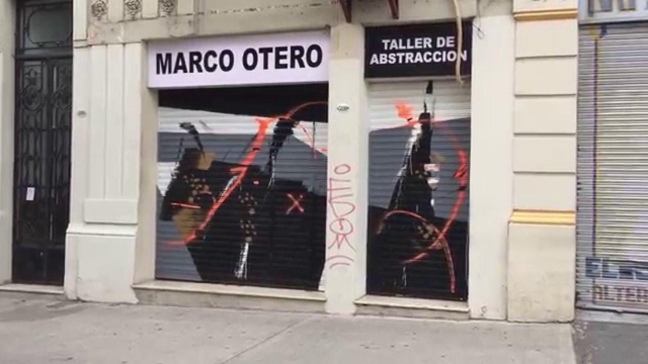 Taller de enseñanza arte pintura abstracta MARCO OTERO - YouTube
