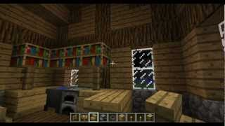 Minecraft Interior House Design Tutorial: Medieval House YouTube
