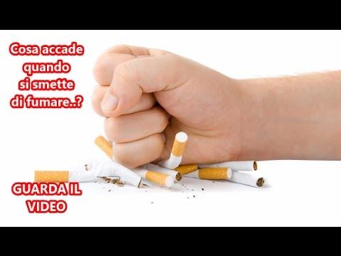 Caposgiri quando si smette di fumare