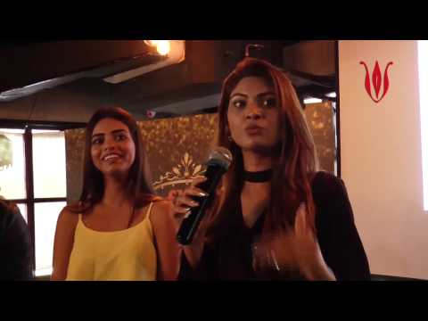 Question answer session at Fbb colos Femina Miss india 2017