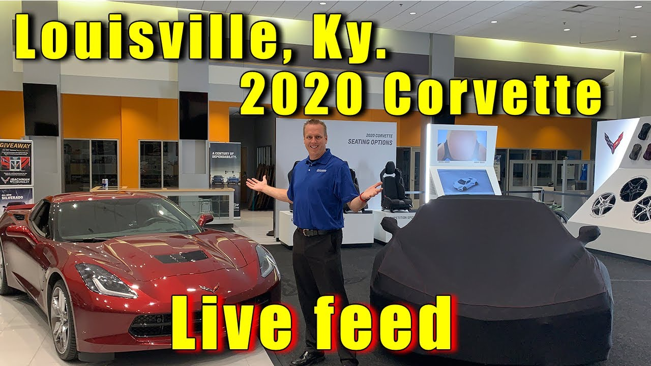 2020 Corvette Mobile Tour Live Feed Bachman Chevrolet Louisville Ky