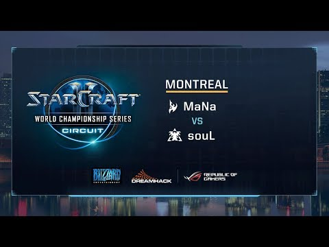 MaNa vs souL PvT - Group D Stage 2 - WCS Montreal 2017 - StarCraft II