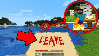 Something has been living in my Minecraft World while I was away... (Scary Minecraft Video)