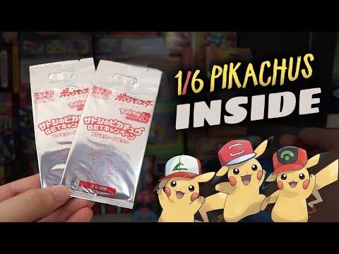 Download Youtube: Opening Rare Ash's Pikachu Promo Packs (Japanese)