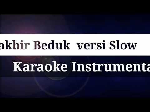 Beduk Takbir Karaoke instrumental