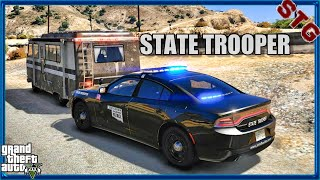 PLAYING GTA 5 AS A COP!| #4 (GTA 5 MODS ROLEPLAY) OKLAHOMA