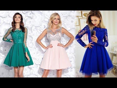 49fea0f004ba8e Sukienki na wesele 2019 - Modne sukienki wieczorowe - YouTube