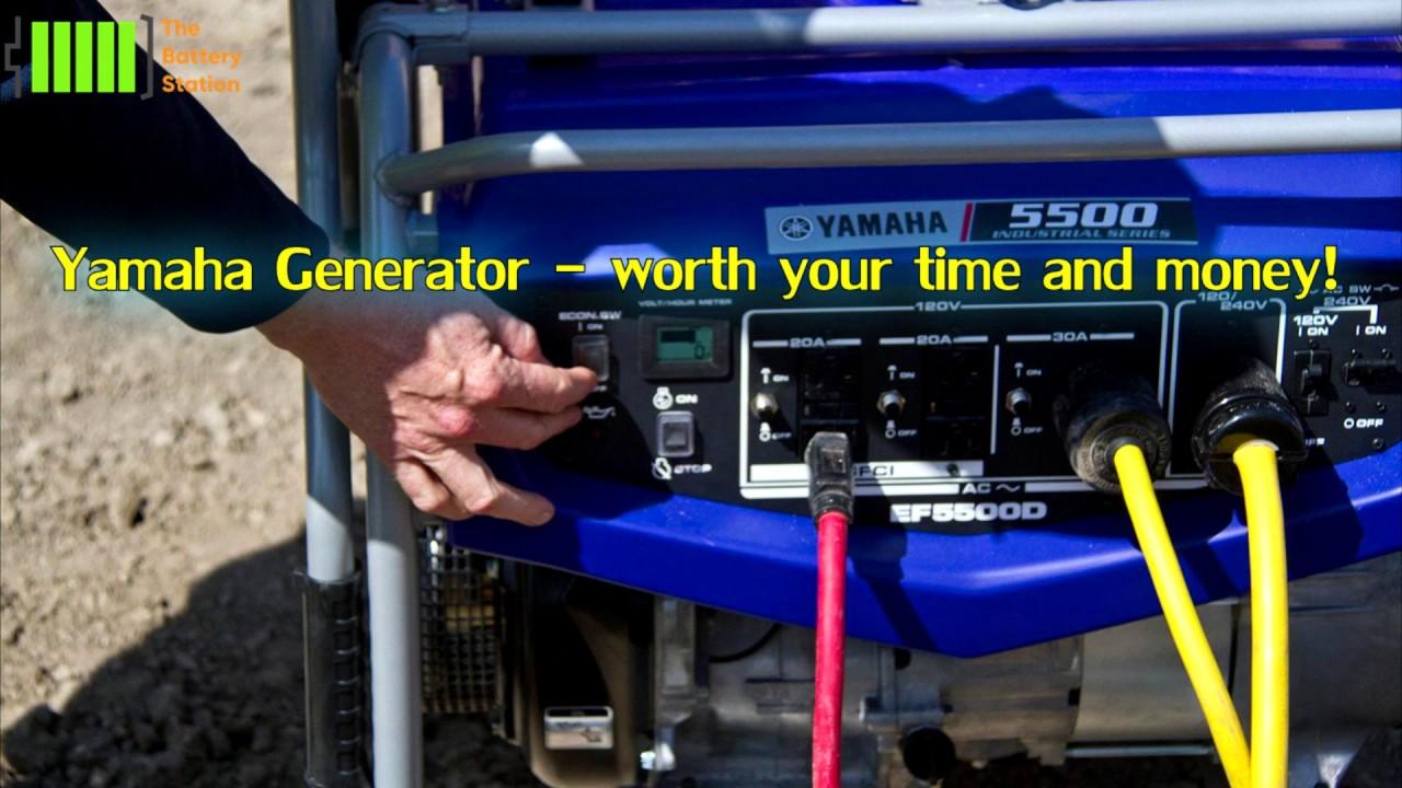 Yamaha Generator - Quiet portable generator and inverter to