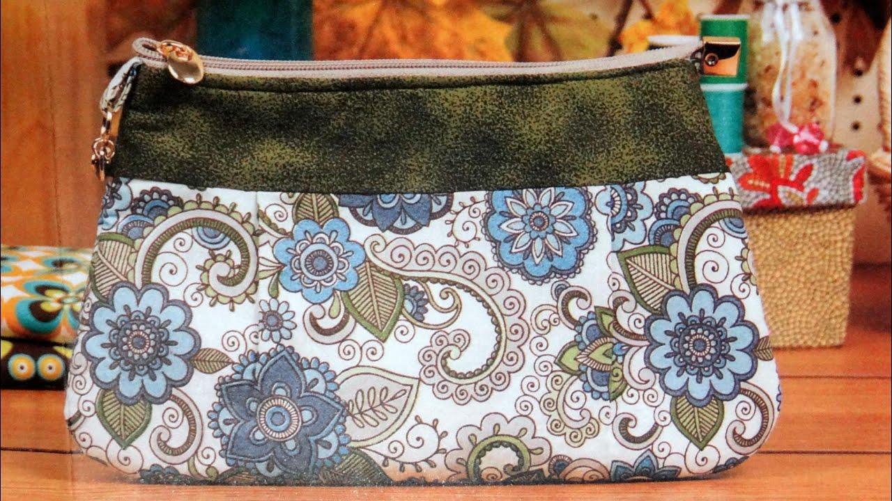 Bolsa De Mao Maura Castro : Aula em v?deo da bolsa de tecido primavera diy fabric