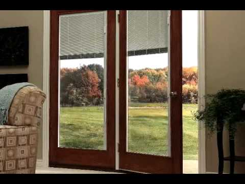Odl Doorglass Blinds Youtube