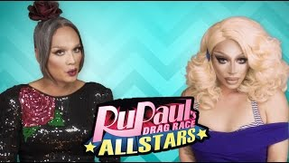 FASHION PHOTO RUVIEW: All Stars 2 Ep 4 with Raja & Raven - RuPaul's Drag Race: Flip It & Reverse It