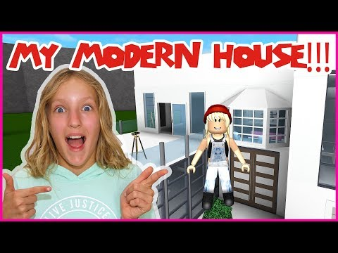 Finishing My New Modern House!
