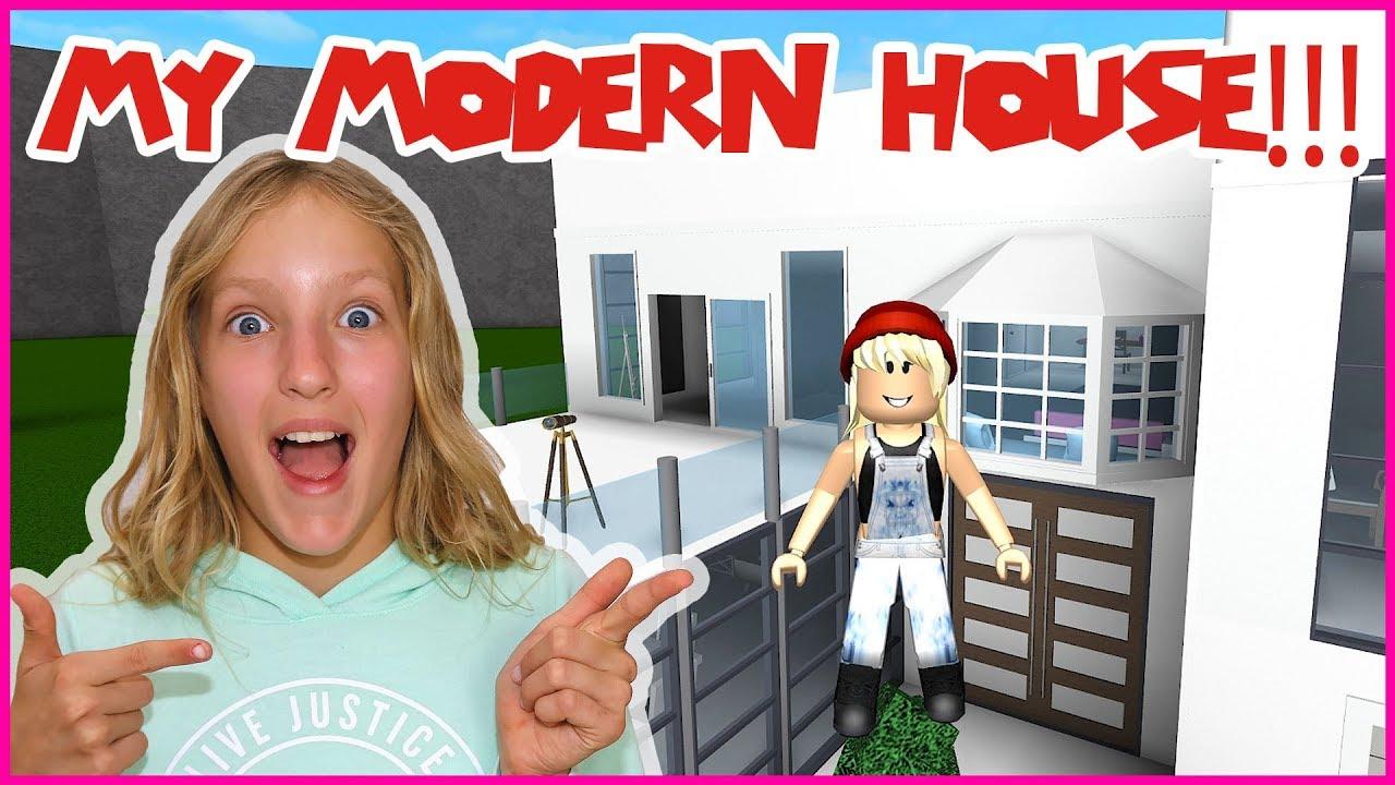 Roblox Karina Omg Bloxburg Finishing My House