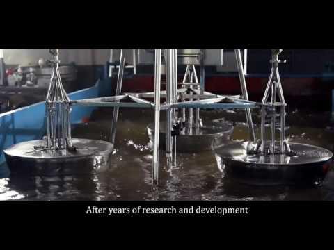 Renewable Energy Source - Power Plant on Ocean