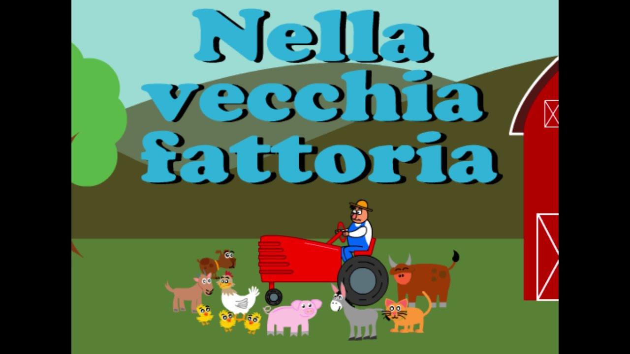Nella vecchia fattoria canzoni per bambini youtube for Planimetrie tradizionali della fattoria