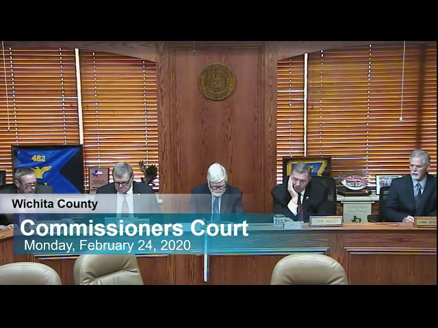 Commissioners Court 02/24/2020 Part 2