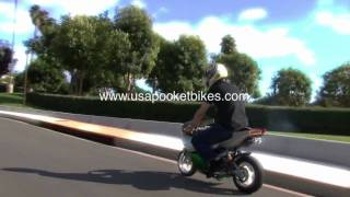 Pocket Bike, Mini Bikes, Pocketbikes - X19 110cc Superbike