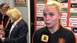 Kika van Es na NED-ZWI