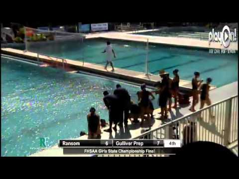 FHSAA Girls Waterpolo State Championship Final
