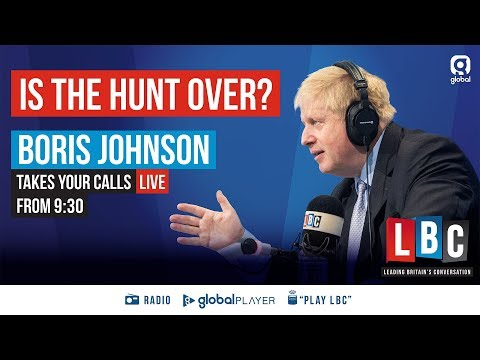 Ask Boris Johnson Your Questions - LBC