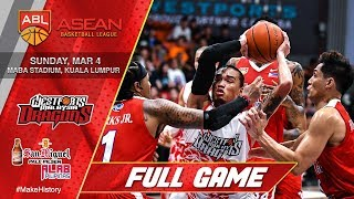 Westports Malaysia vs San Miguel Alab Pilipinas | FULL GAME | 2017-2018 ASEAN Basketball League