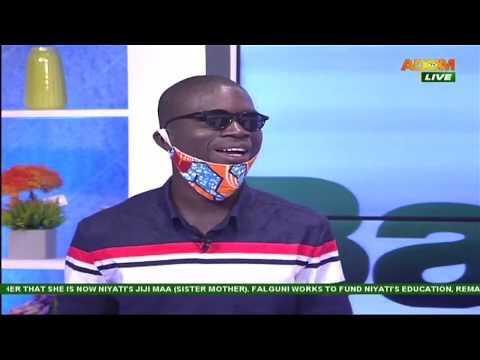 Residents of Israel donates to Nsoromma's Stephen Nyamekye - Badwam Ahosepe on Adom TV (29-5-20)