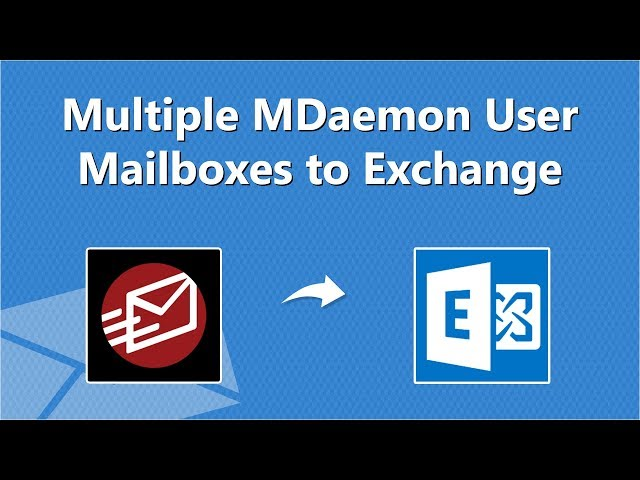 Migrate MDaemon to Exchange Server Online in Bulk with Fastest Speed