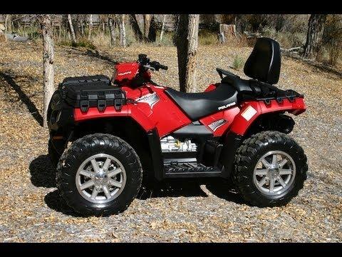 ATV Television - 2012 Polaris Sportsman Touring 550 EPS Test - YouTube