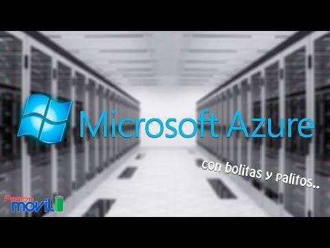 Microsoft Azure con bolitas y palitos