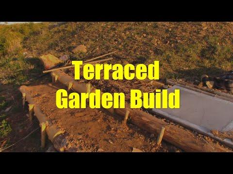 Low Budget Terraced Garden Build